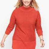 Talbots Links Stitch Mockneck Sweater