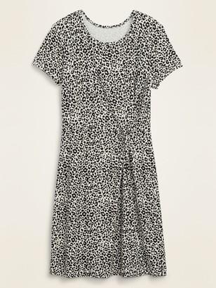 Old Navy Twist-Front Ponte-Knit Sheath Dress for Women