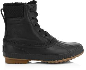 Sorel Cheyanne II Shearling-Lined Waterproof Leather Boots