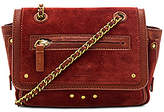 Jerome Dreyfuss Benji Crossbody in Rust.