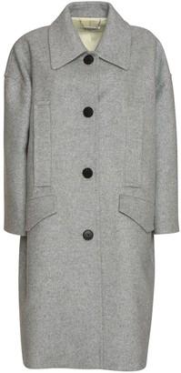Givenchy Oversized Coat In Grey