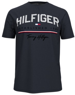 Tommy Hilfiger Men's Signature Graphic T-Shirt