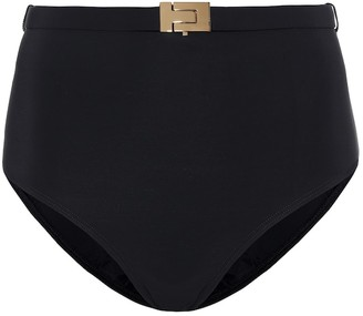 Tory Burch T-belt high-rise bikini bottoms