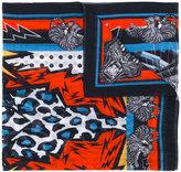 DSQUARED2 tiger print stole - men - Silk/Cotton - One Size