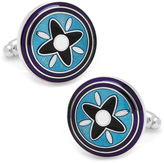 L2 by Loma Blue and Purple Twilight Star Cufflinks