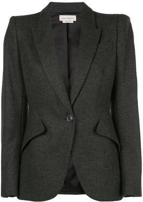 Alexander McQueen fitted blazer