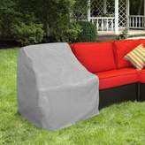 Protective Covers by Adco Modular Sectional Left Arm Sofa Cover in Grey