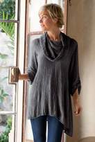 Soft Surroundings Asymmetrical Gauze Tunic