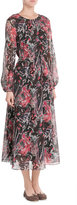 IRO Aby Printed Silk Chiffon Dress