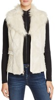 GUESS Gabby Faux Fur Vest