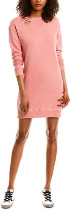 Monrow Sweatshirt Mini Dress