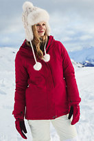 Classic Women's Tall Squall Parka-Neptune Blue
