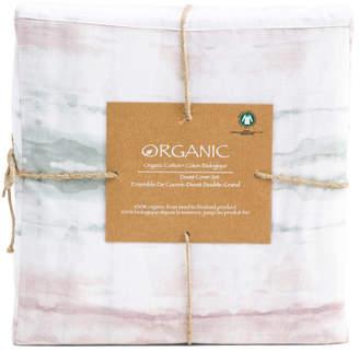Printed Organic Cotton Duvet Cover