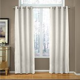 Veratex The Madison Window Collection Made in the U.S.A. 100% Linen Living Room Grommet Window Panel Curtain, Khaki, 96""