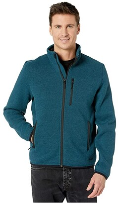 Filson Ridgeway Fleece Jacket (Mallard Teal) Men's Coat