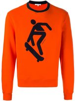 Carven skateboard sweatshirt