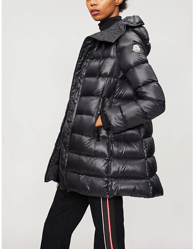 Moncler Suyen padded shell-down coat