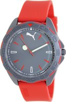 Puma Men's Active PU103421001 Red Silicone Analog Quartz Watch with Dial
