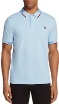 Fred Perry Abstract Tipped Pique Regular Fit Polo Shirt