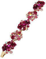 Betsey Johnson In Love Flower Bracelet