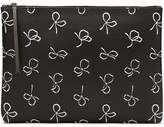 Banana Republic Bow-Print Large Zip Pouch