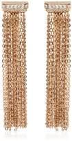 Lanvin Chain Fringed Clip-On Earrings