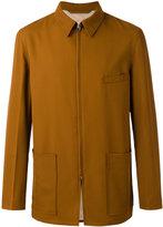 Lemaire zipped jacket - men - Virgin Wool/Cotton/Viscose - 48