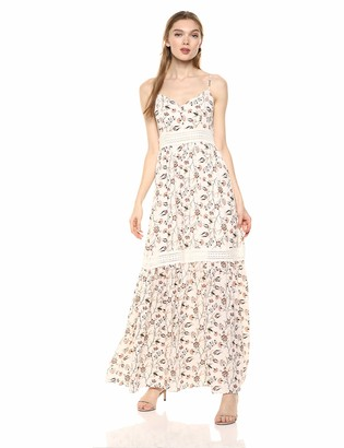 Jack by BB Dakota Women's What Grows Around Printed CDC Maxi Dress