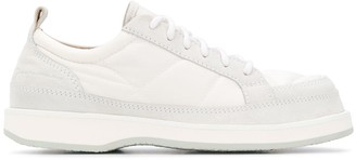 Jacquemus Tonal Stitch Panelled Sneakers