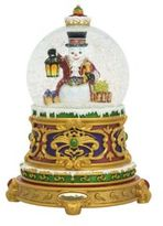 Christopher Radko Fancy Frost Snowglobe
