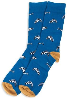 Barbour Novelty Socks Fish Socks