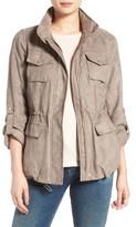 Vince Camuto Women's Faux Suede Utility Jacket