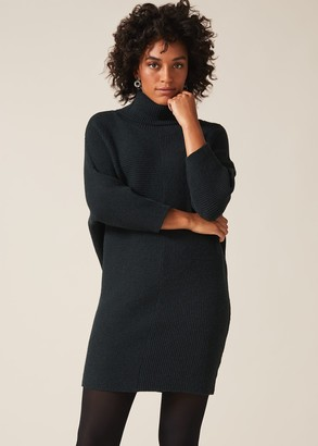 Phase Eight Catheline Cowl Jumper Dress