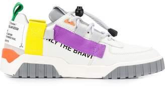 Diesel colour-block sneakers
