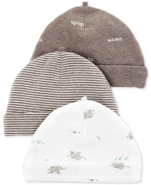Carter's Baby Boys & Girls 3-Pk. Hats