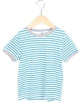 Petit Bateau Boys' Striped Embroidered Shirt