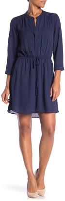 Daniel Rainn Dr2 By Split Neck Dress