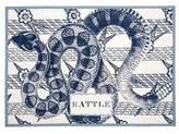 Thomas Paul Rattle Tea Towel