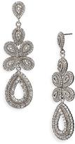 Tasha 'Ornate' Linear Statement Earrings