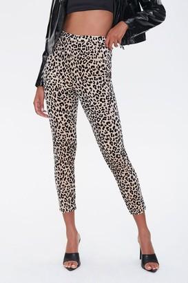 Forever 21 Leopard Print Leggings