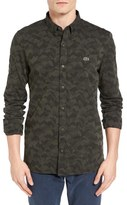 Lacoste L!VE Jacquard Camo Shirt