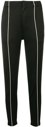 Y-3 Contrast Pipe Trousers