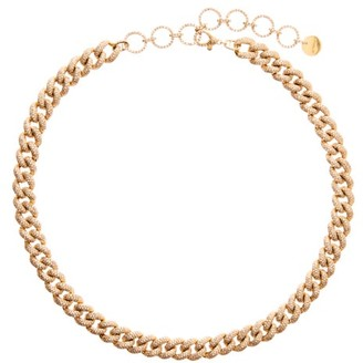 Shay Essential Diamond & 18kt Gold Choker - Womens - Gold
