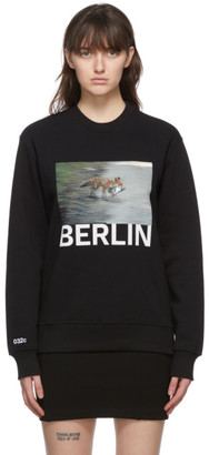 032c Black Die Todliche Doris Edition Fox Sweatshirt