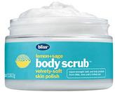 Bliss lemon & sage body scrub