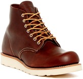 Red Wing Shoes 6 Round Toe Burnished Boot