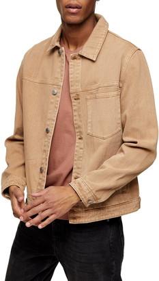 Topman Denim Western Trucker Jacket