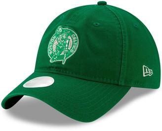 New Era Boston Celtics Women's Logo Beam 9TWENTY Adjustable Hat - Kelly Green