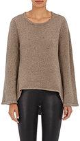 Co Women's Wool-Cashmere Flared-Sleeve Sweater-TAN