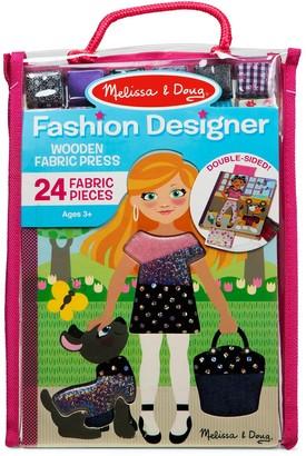 Melissa & Doug Fashion Designer Wooden Fabric Press
